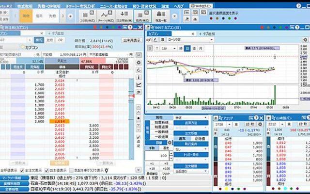 証券系システムSample